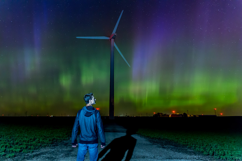 Northern Lights in Iowa