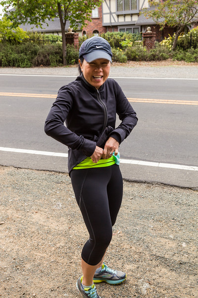 Los Altos Hills Pathway run - May 9th 2015