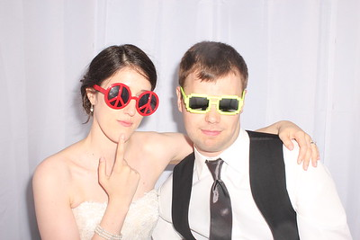 Lorien and Adam's Wedding Photobooth