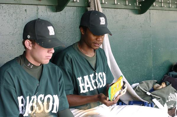 babson baseball V CLARK  4.24.2005