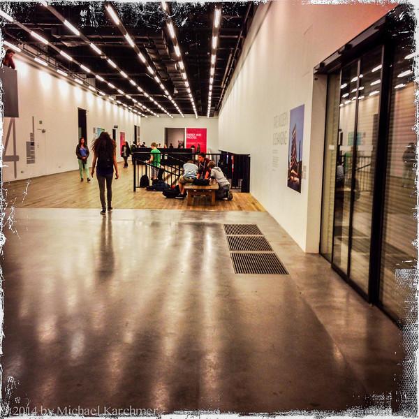 Students at the Tate Modern (May, 2014)