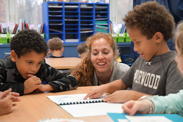 """Second Graders Invite First Graders to Share their """"Small Moments."""""""