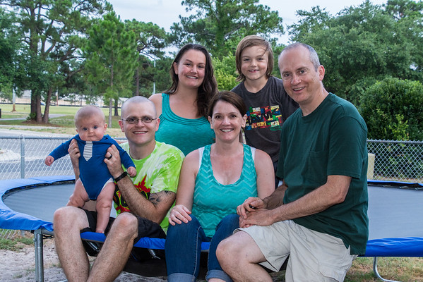 The Sharps in Florida, June, 2015 and again in January, 2016