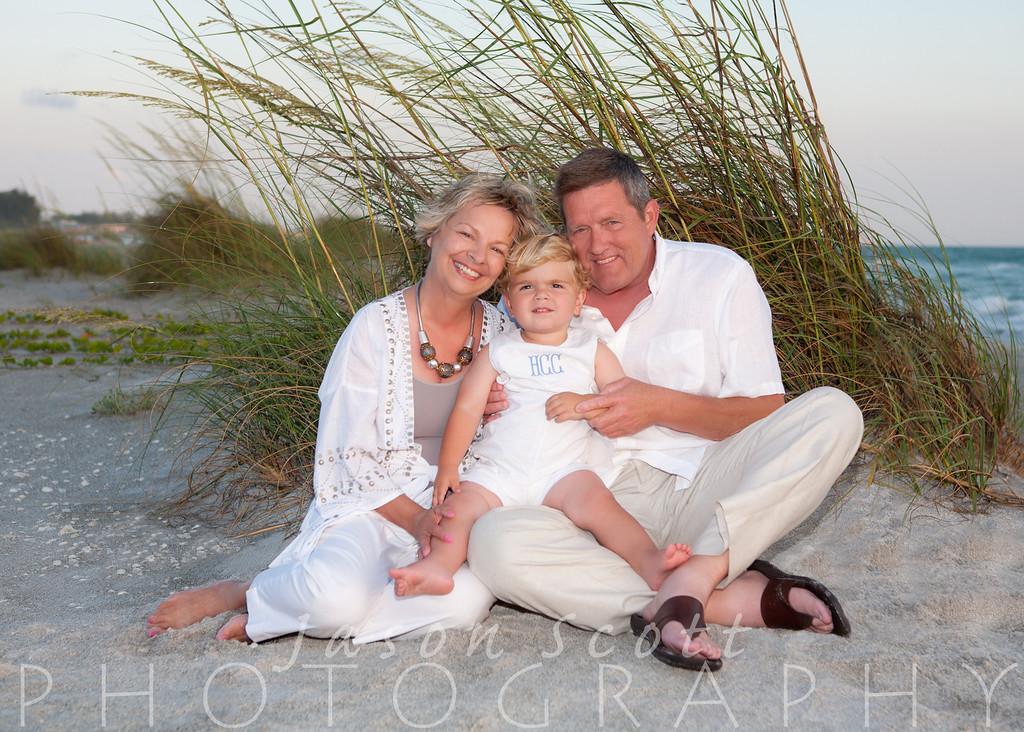 Powell Family on Longboat Key, May 2012