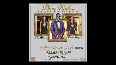 DW3 Dion Waiters 3rd Annual Suit and Tie