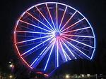 Video 1 of the Giant Sky Wheel light show.