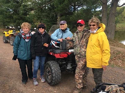 SISTERHOOD ATV TRIP TO CABIN... SEPT 2017