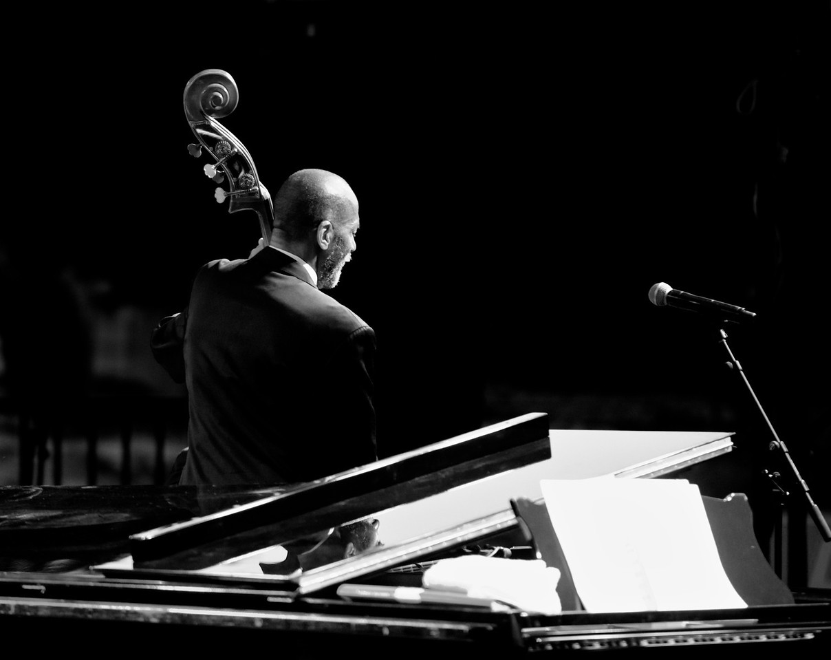 Ron Carter at the Nice Jazz Festival 2010 9<br /> Ron Carter in concert during the Nice Jazz Festival 2010