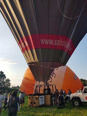 Ballonvaart Geel 27.08.2017