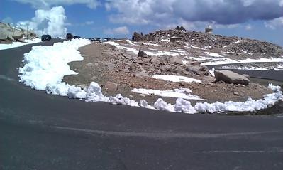 Stacie & Annette Ride a 14er - Mt. Evans 6-24-2011