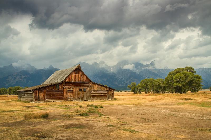 Barn, Mormon Row