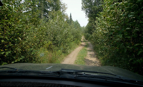 Trans WI Trail in the Jeep