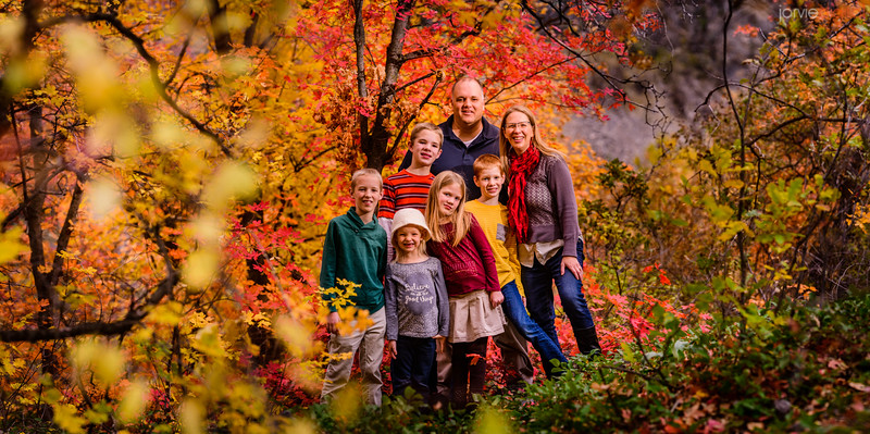 Larsen Family Fall pictures