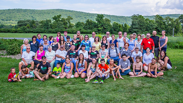 Family Reunion - New Berlin, NY Aug 2 2014