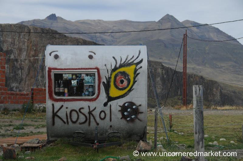 Happy Kiosk - El Chalten, Argentina
