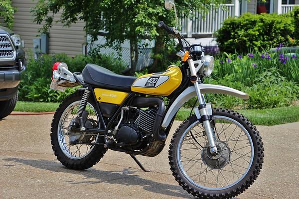 1995 Yamaha DT400