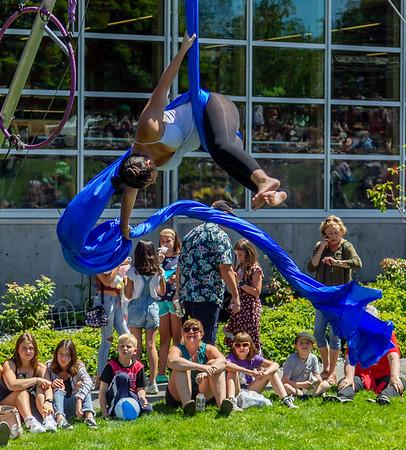 Set nine, UMO Aerial Show 1 at Ober Park, Vashon Island Strawberry Festival 2019