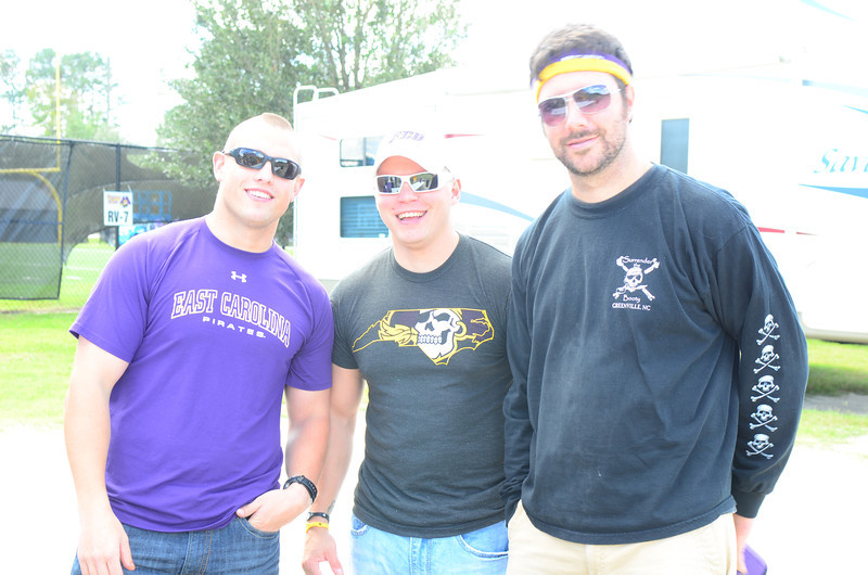 10/1/2011 ECU vs North Carolina  , Rob, Preston