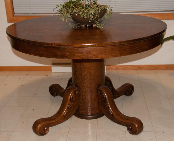 Heavy Oak Table