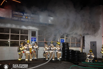Gas Station Fire - 10 West Ave, Stamford, CT - 1/30/21