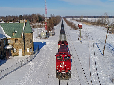 Canadian Pacific 650, Lacolle, Quebec, January 14 2019.
