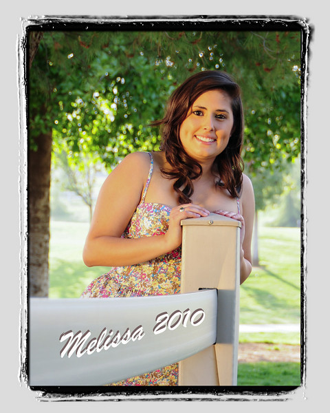 MELISSA'S SENIOR PORTRAITS 2010