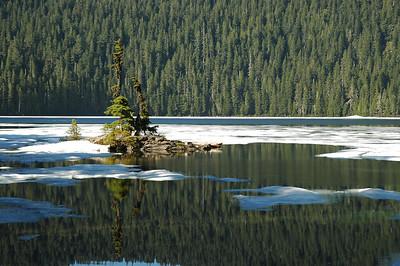 Mowich Lake - Spray Park - Tolmie Peak