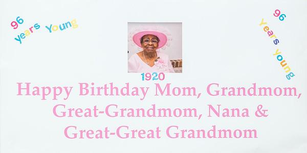 Grandma's 96th Birthday