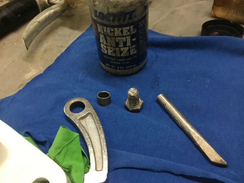 anti seize on ss parts