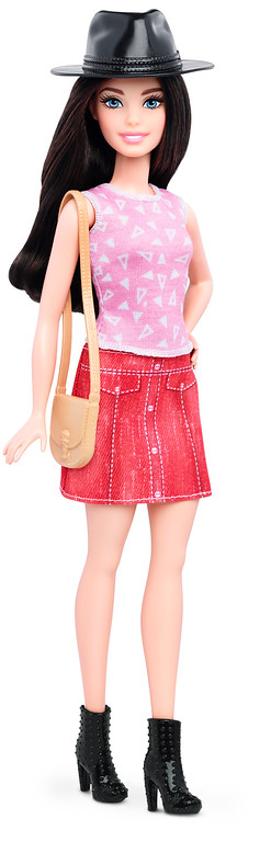 . This photo provided by Mattel shows a new, petite Barbie Fashionista doll introduced in January 2016. Mattel, the maker of the famous plastic doll, said it will start selling Barbie�s in three new body types: tall, curvy and petite. She�ll also come in seven skin tones, 22 eye colors and 24 hairstyles. (Mattel via AP)