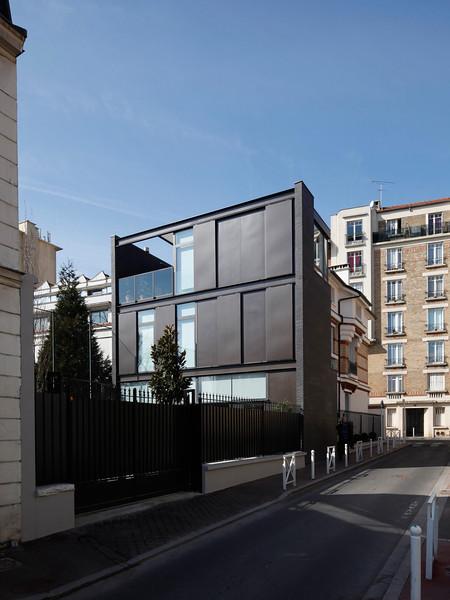 Réhabilitation et extension d'une maison à Montrouge, 2009, photo Abbadie ©Agence Michel Kagan Architecture & Associés
