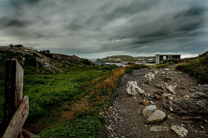 Keels, Landscape, Newfoundland