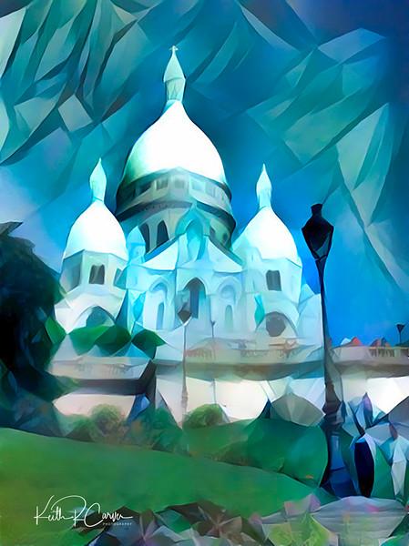 Basilique de Sacre Coeur, Montmartre, Paris