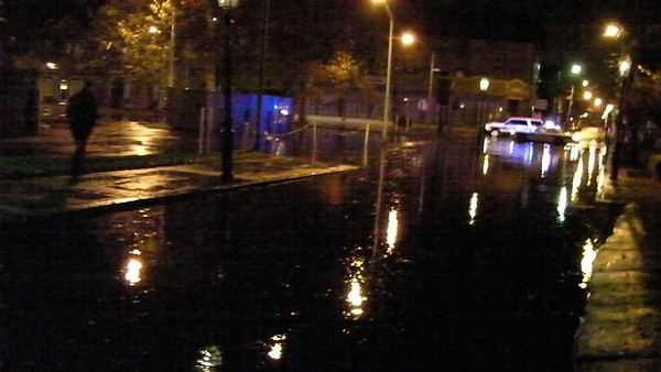 Hurricane Sandy in Newport RI