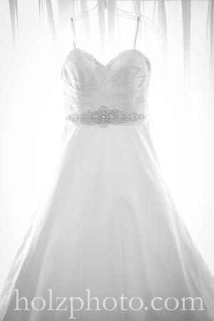 Lauren & Nick B/W Wedding Photos