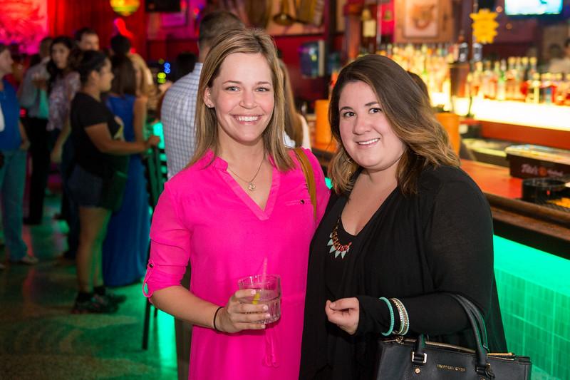 Ashlee Wegner and Marisol Ramirez at the CCU40 kick off event in Corpus Christi, Tx.