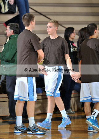 Boys Varsity Basketball - Corunna at Lansing Catholic