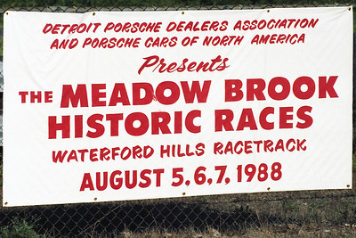 1988 MEADOW BROOK HISTORIC@WATERFORD HILLS