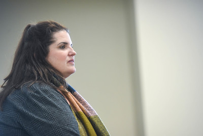 Sarah Hadzor speak in convo