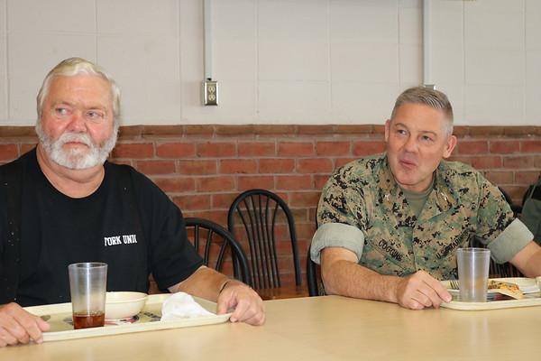 October Birthdays Luncheon with COL Coggins