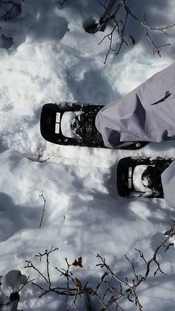 2017-02 Super Sunday Snowshoe