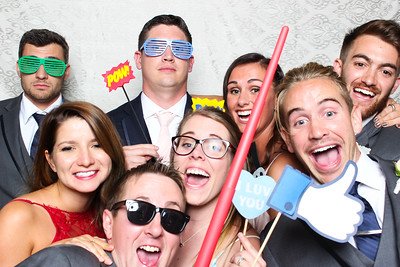 Kalie + Aaron's Wedding Photo Booth