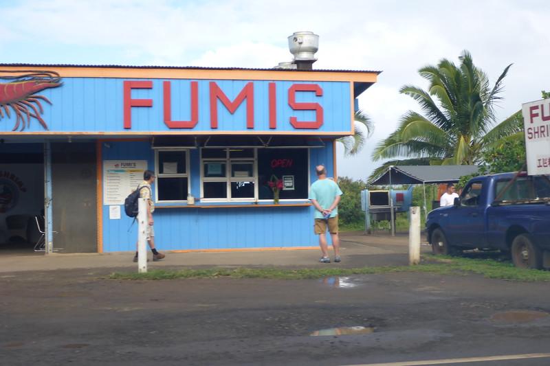 Shrimp Farm Road Stands