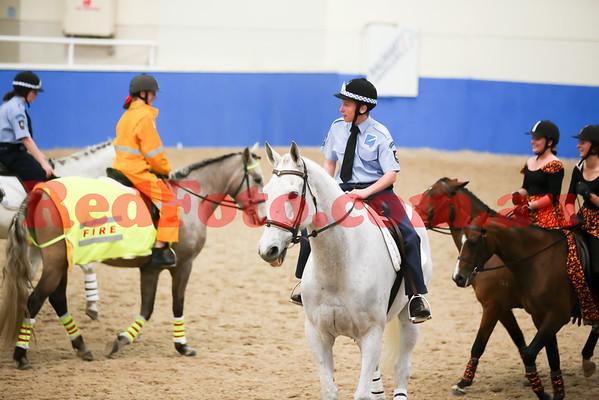 2014 08 23 PCAWA State Dressage Champs Musical Ride 5 Peel BushFire