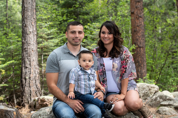 Joseph, Trisha, and Josiah (1 yr.) June 2019