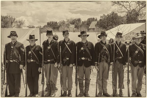 Battle of Apache Canyon, Santa Fe NM