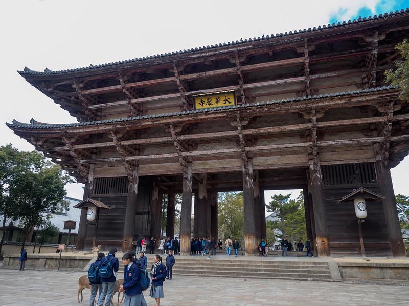 Nandaimon Gate of Tōdaiji