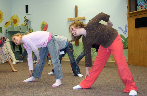 iPraise Practice - Grades 3-5 - January 16, 2008