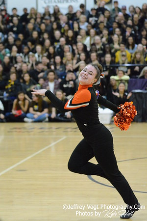 1-09-2016 Rockville HS Varsity Poms at Northwest HS, Photos by Jeffrey Vogt Photography with Kyle Hall