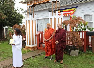 Oregon Buddhist Vihara 2016 October